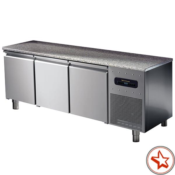 Bäckereitiefkühltische EN 60x40cm