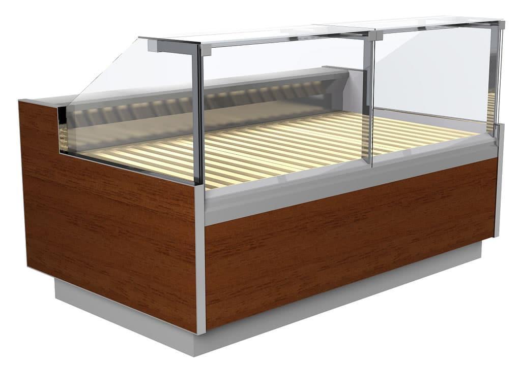 Bäckerei Brottheken ohne Kühlung