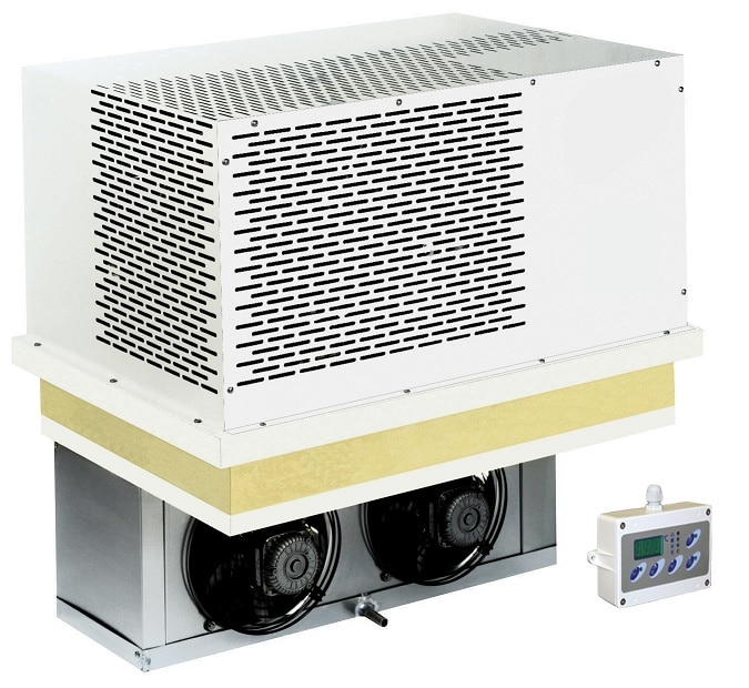 Kühl- und Tiefkühlaggregate für Kühlzellen