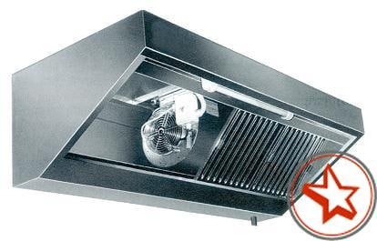 Wandhauben GS-STANDARD m. Motor, Regler & Beleuchtung