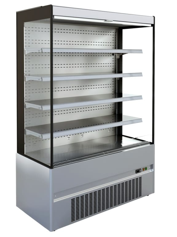Edelstahl Wandkühlregale GS-CR dreiseitig CNS
