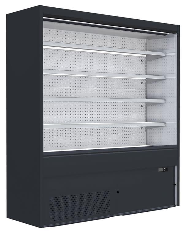 Wandkühlregale GS-FI mit geschlossenen Seitenteilen