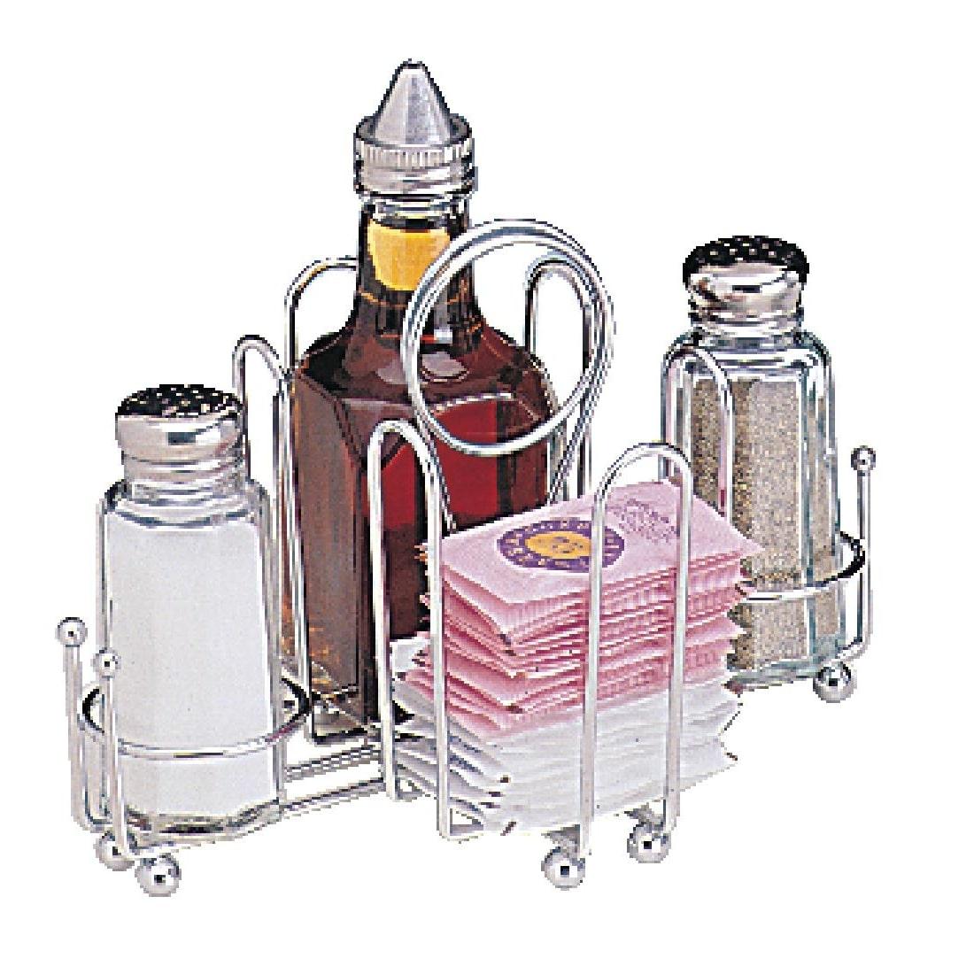 Besteck- und Zutatenbehälter, Gewürzständer