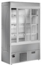 Wandkühlregale GS-URI mit Schiebetüren
