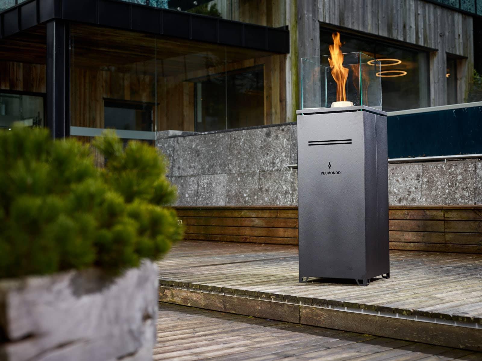 Pellet-Outdoor-Feuermöbel - Made in Austria