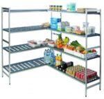 Fermostock 5711 - Aluminiumregale mit Kunststoff-Auflagen